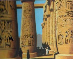 Грандиозные храмы должны были внушать верующим представление о недосягаемом величии богов.