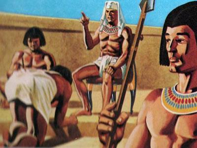 Огромная армия чиновников, ответственных непосредственно перед фараоном, контролировала жизнь государства даже в мелочах.