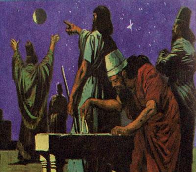 Жрецы древнего Вавилона изучали астрономию и астрологию