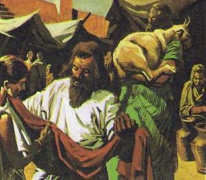 На рынках Вавилона торговали ремесленники, земледельцы и скотоводы.