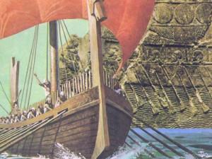 Финикийские корабли были бесспорными хозяевами морей и позволяли финикийцам вести торговлю в очень отдаленных землях.
