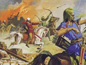 Мидяне были весьма воинственным народом, способным противостоять войску, значительно более многочисленному, чем их собственное.