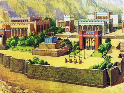 дворец в персеполе