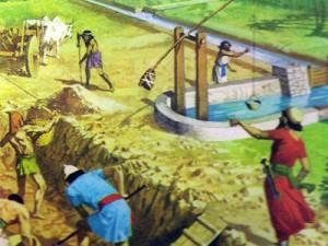 Умело и продуманно проводя каналы, персы сделали пригодными для навигации многие реки и озера