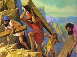 Ради государственных нужд свободный труд в Персидской империи подменялся всеобщей подневольной трудовой повинностью.