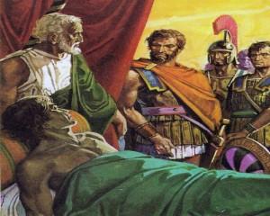 Александр Великий на смертном одре