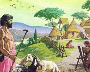 Латины жили в небольших деревнях, состоявших из нескольких хижин, и занимались сельским хозяйством и скотоводством.