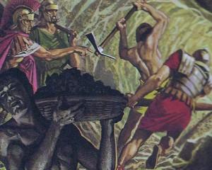 Для завоевания города Вейн, сопротивлявшегося в течение десяти лет, римляне проникли в него по подземному переходу.