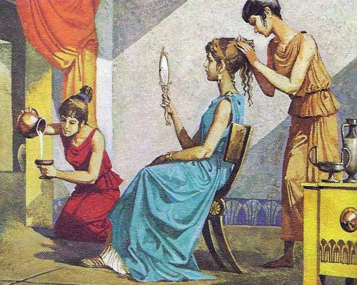 8d38cb95b87d Женщины пользовались различными косметическими ...