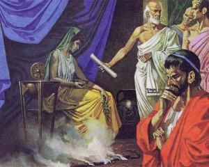 У пророчиц-сибилл спрашивали предсказаний о будущем, причем как в делах семейных, так и в общественных.