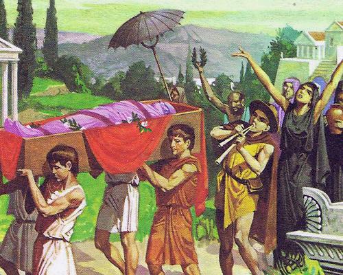 Смерть считалась в Греции