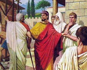 В Древнем Риме царь был верховным главнокомандующим, верховным жрецом и судьей, но он обладал абсолютной властью только во время войны.