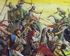 В войне против Рима Пирр использовал слонов - животных, неизвестных тогда римлянам.