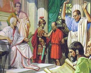 В Риме жили великие правоведы, и римское право является, возможно, главной данью римлян цивилизации.
