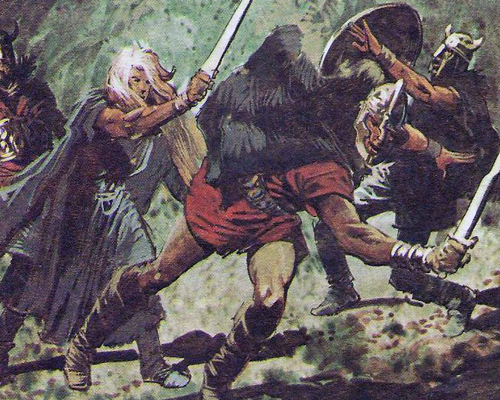 викинги кровожадные воины