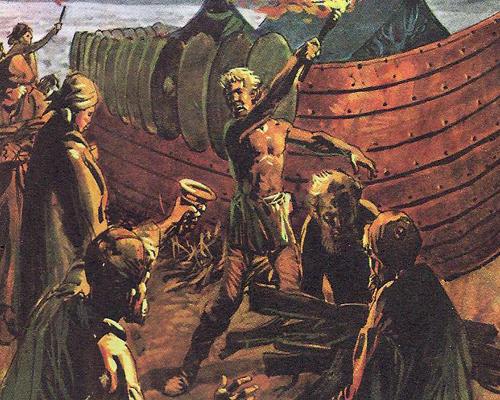 обряды викингов
