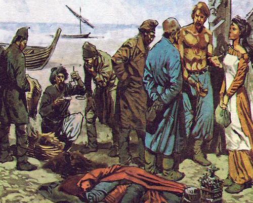 Торговцы викинги