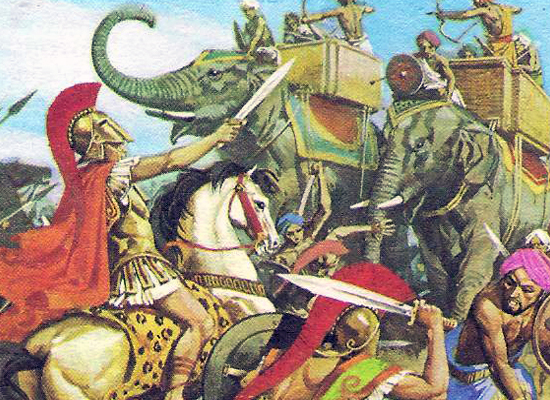 кавалерия Александра Македонского