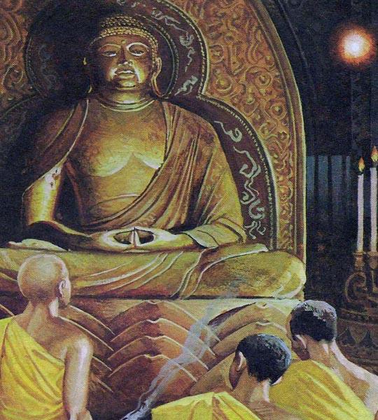 Став государственной религией, буддизм пережил моменты кризиса, поскольку распался на секты, враждовавшие друг с другом.