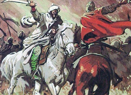сражения арабов
