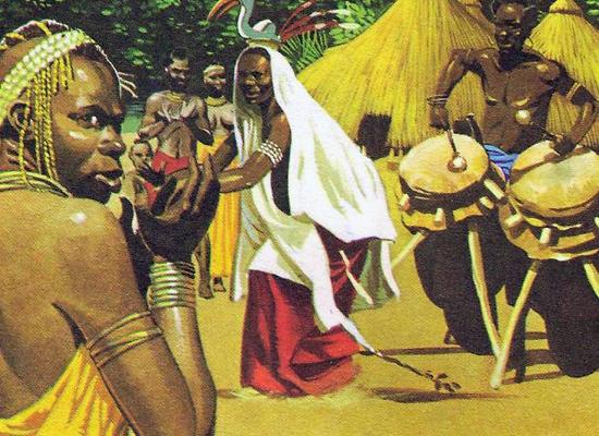 воинственные народы Африки