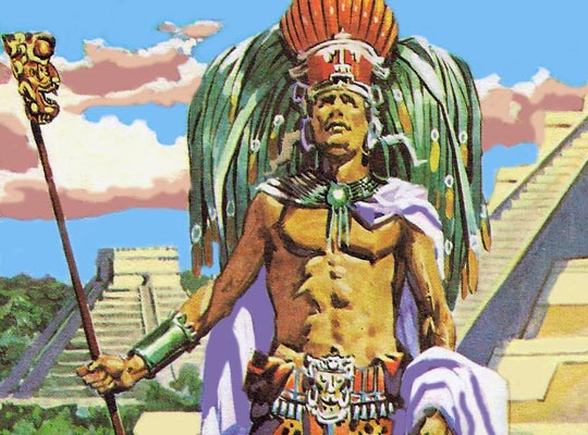 Майя страдали от двух каст - политиков и жрецов.