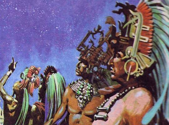 При развитой астрономии, майя смогли составить почти идеальный календарь
