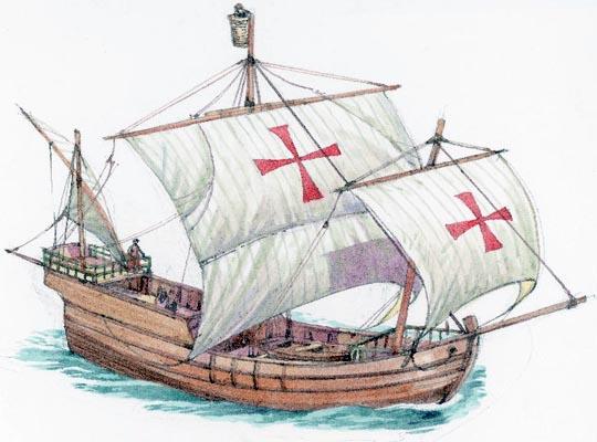 Знаменитый корабль Христофора Колумба