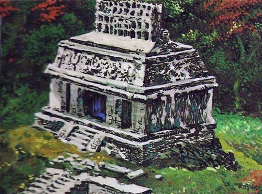 храмы майя