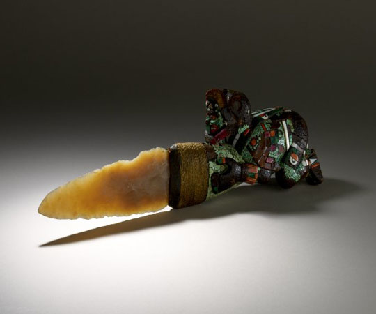 Нож ацтеков для церемоний