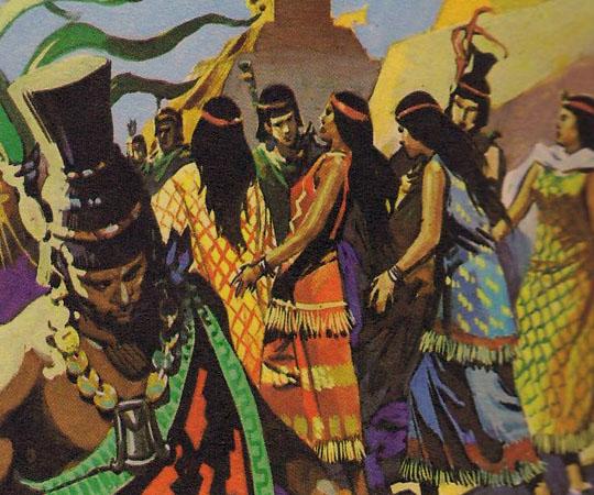жизнь ацтеков