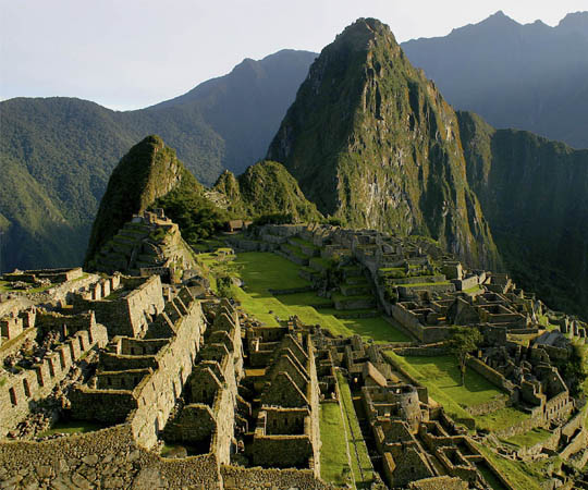 город инков Мачу Пикчу