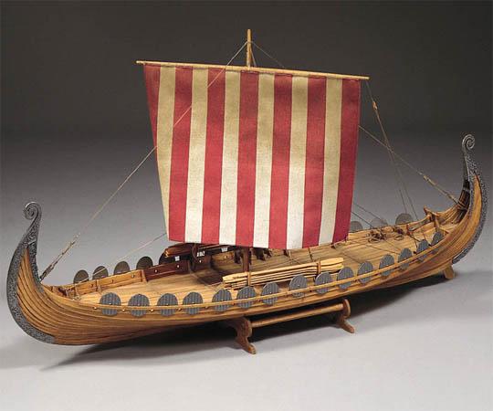 Осебергский корабль викингов