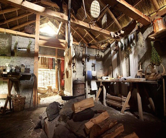 Воссоздания дома викингов