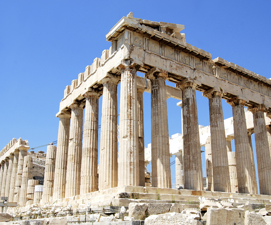 Акрополь в Афинах Греция (acropolis of Athens Greece)