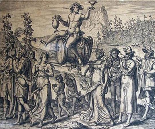 божественное вино в Древнем Риме