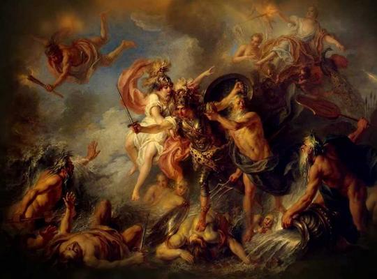 Воин Ахилл в «Илиаде» Гомера