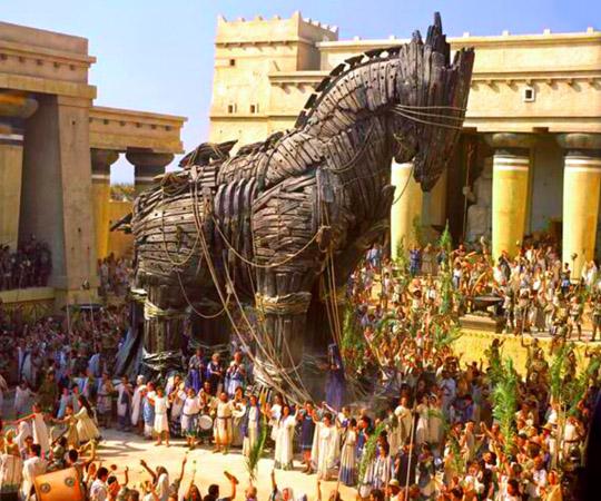 Троянский конь в истории