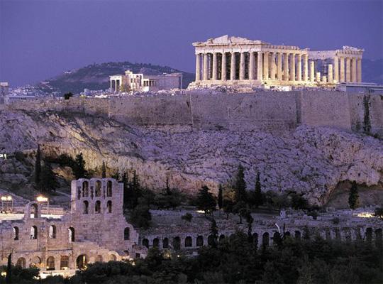 строительство храма Парфенон