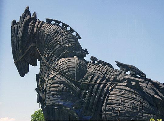 Выражение троянский конь