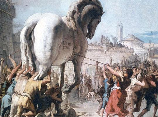 троянский конь выражение