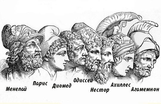 участники троянской войны