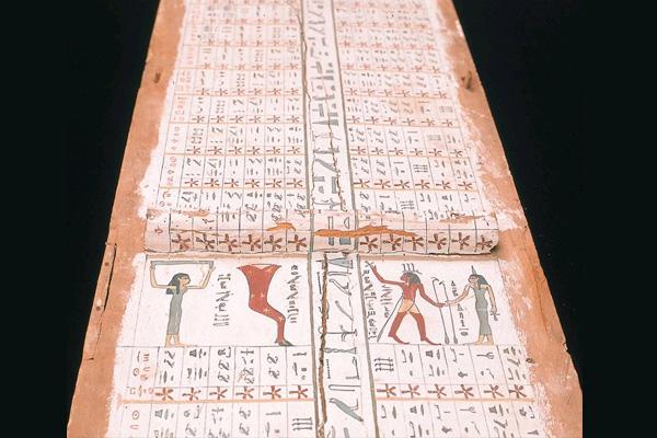 Астрономия Древнего Египта - диагональная звездная диаграмма