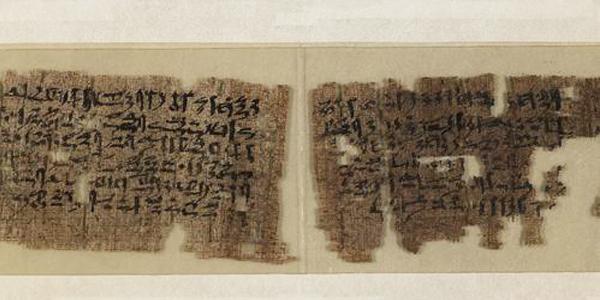 Письменность Древнего Египта - Сказка о Синухе (Tale of Sinuhe)
